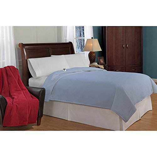 Soft Heat Micro Fleece Electric Warming Blanket
