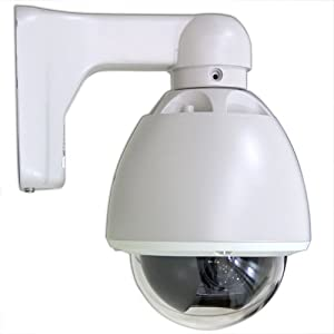 700TVL 12X Indoor/Outdoor Pan Tilt Zoom Security Camera PTZ