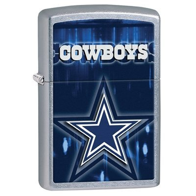 Zippo NFL Dallas Cowboys Street Chrome Pocket Lighter at Amazon.com