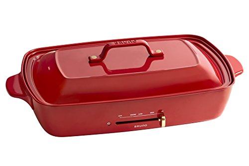 BRUNO ホットプレートグランデサイズ BOE026-RD レッド BOE026-RD
