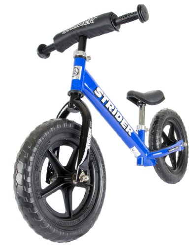 Strider Boy's Balance Bike - Blue, 12 Inch