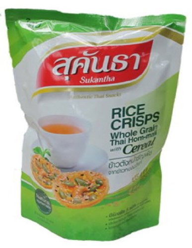 Kaotang Thai Rice Cracker Cripy Cereal Flavour 75g Rice Crackers Asian Snacks Healthy Crackers Rice Snacks