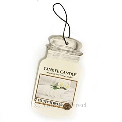 Yankee Candle Fluffy Towels Car Jar Scented Candle by Yankee Candle