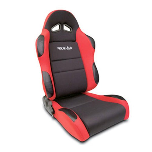 procar seats:ProCar by Scat 80-1605-64R SPORTSMAN Red Vinyl/Velour Right Racing Seat