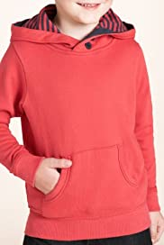 Cotton Rich Long Sleeve Hooded Top [T88-0512D-Z]