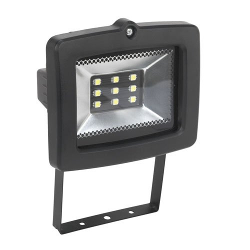Sealey LED044 Floodlight with Wall Bracket 9 SMD LED, 230 V