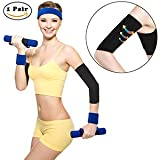 Nlife Calorie Off Slimming Compression ARM SLEEVE ARM SHAPER (1 Pair)
