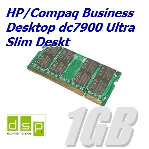 1GB Speicher / RAM für HP/Compaq Business Desktop dc7900 Ultra Slim Deskt