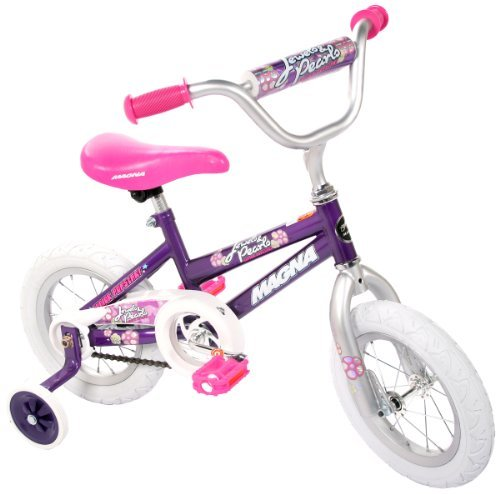 Educational Products - Magna Girls Jewels Pearls Bike - Complete with a 2 piece pad set