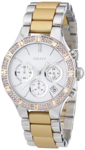 DKNY Ladies Fashion 2 Tone Steel Bracelet Watch NY8509