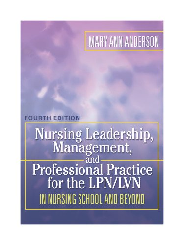 Nursing Leadership, Management, and Professional Practice...