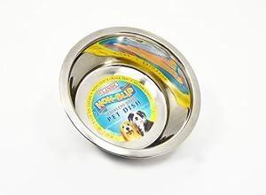 Classic Non Slip Stainless Steel Dog Bowl 900ml
