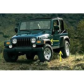 NEW 1997-2006 Jeep Wrangler Rubicon Wheel Fender Flares OEM MOPAR