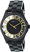 Marc by Marc Jacobs MBM3255 Henry Black Skeleton Watch