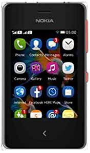 Nokia Asha 500  Dual SIM, Red                                   available at Amazon for Rs.4440