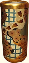 188243 High Rustic Chinese Porcelain Umbrella Stand with