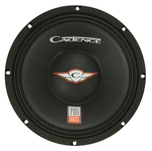 Cadence Acoustics Pro10X8 800-Watt Peak 8-Ohm 10-Inch Single Voice Coil Pro Audio Subwoofer