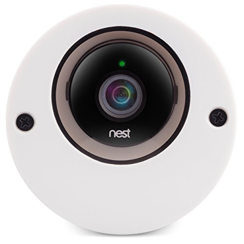 Nest Cam & Dropcam Pro Outdoor Camera Enclosure in White, 100% Night Vision Guaranteed & Weatherproof - by Dropcases - Available in 9 Different Colors, Weather Resistant and Durable Acrylic Materials (Dropcam Pro Outdoor compare prices)