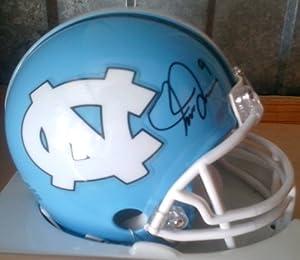 Mia Hamm Autographed North Carolina Tar Heels Mini Helmet by Mini+Helmet