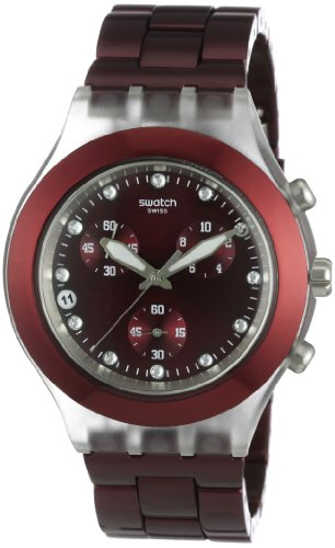 Swatch Men's Full-Blooded Watch SVCK4054AG Burgundy