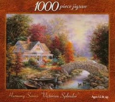 Harmony Series: Victorian Splendor: 1000 Piece Jigsaw Puzzle