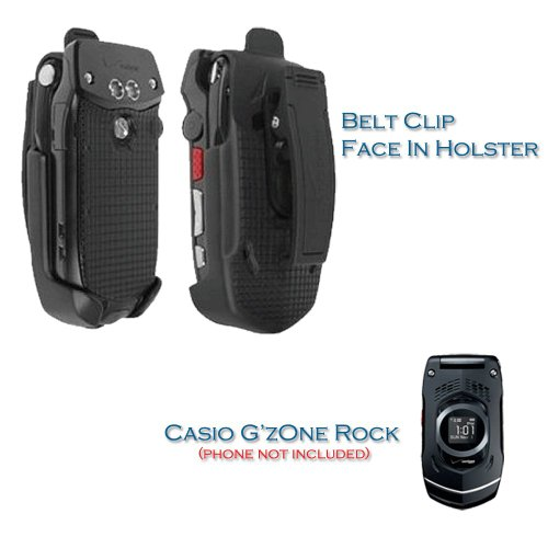 Belt Holsters  U0026 Clips  Oem Verizon Casio G U0026 39 Zone Rock C731 Black Belt Clip Holster
