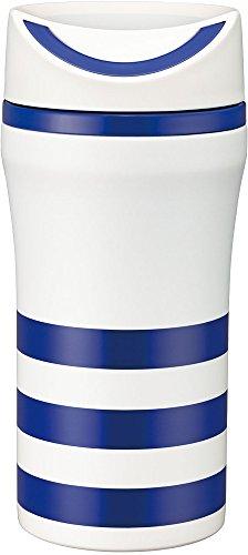 ピーコック ステンレスボトル スライドマグ 0.35L ボーダーネイビー AAS-35 ENV