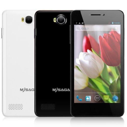 MYSAGA C2 5.0 Inch Unlocked Andriod 4.2 3G Smartphone QHD Screen MTK6572W Dual Core 1.3GHz Dual SIM Card Dual... Black Friday & Cyber Monday 2014