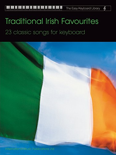 Traditional Irish Favourites: 23 Classical Songs for Keyboard (Easy Keyboard Library)