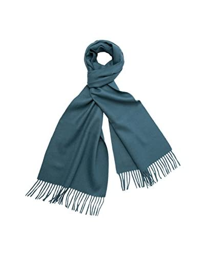 a & R Cashmere Women's Baby Alpaca Solid Scarf, Lake