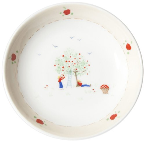 caroline-zoob-1-piece-fine-bone-china-apple-pick-small-dish-assorted-colors