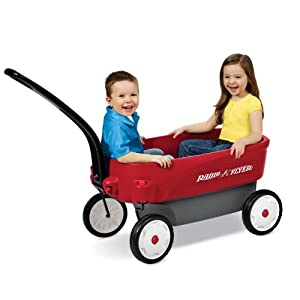 Radio Flyer Passport Wagon Full-sized Wagon with Compact Convenience Model 3300