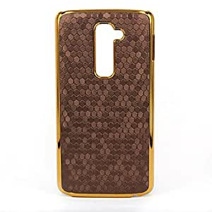 GENERIC Football Profile Pattern Plating Phnom Penh PC Leather Back Cover Case for LG G2 Assorted Colors #02998115