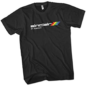 Sinclair ZX Spectrum Mens Premium T-Shirt Black Small