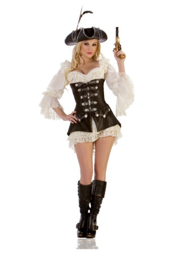 Mystery House Women's Rouge Pirate Costume