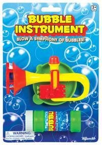 Bubble Instrument Toy Set Blow Lots of Bubbles