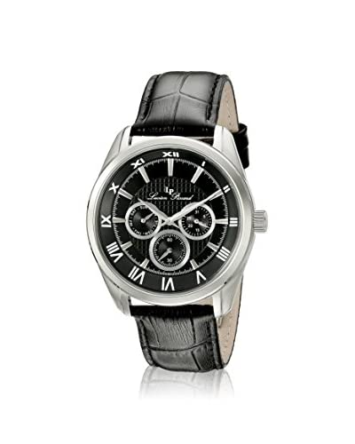 Lucien Piccard Men's LP-10153-01 Black Genuine Leather Watch