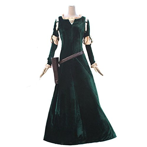 Halloween 2017 Disney Costumes Plus Size & Standard Women's Costume Characters - Women's Costume CharactersPrincess Merida Adult Brave Costume Dress - Made-to-Fit Custom Sizing