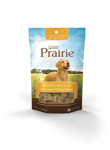 Nature'S Variety Prairie Oven Baked Biscuits With Chicken And Cheddar Cheese, 1.12 Lb