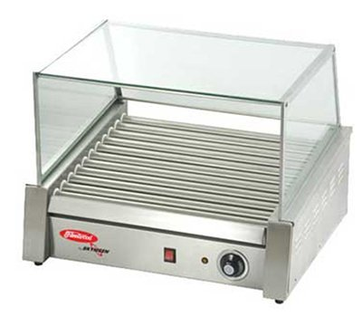 Fleetwood Rg-9M 24 Hot Dog Roller Grill - Flat Top, 110V, Each