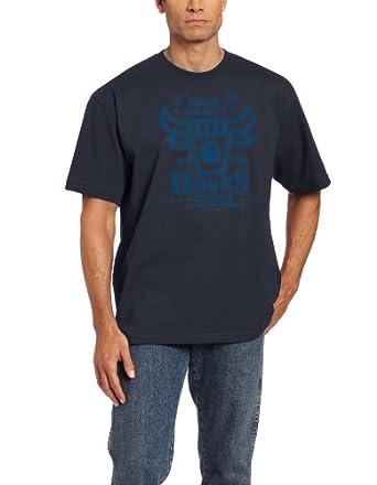 Carhartt Men's  Bull Short Sleeve Tee, Bluestone, X-Large