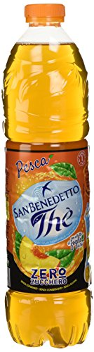 San Benedetto Pesca Zero Zucchero 1.5L (Confezione da 6)