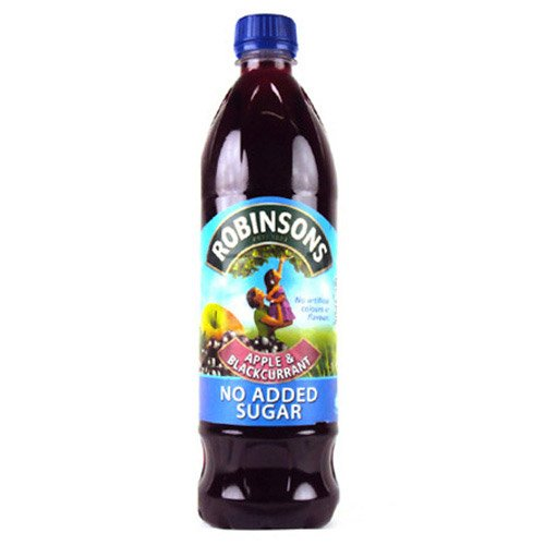 Robinsons No Added Sugar Apple & Blackcurrant Squash 1000g