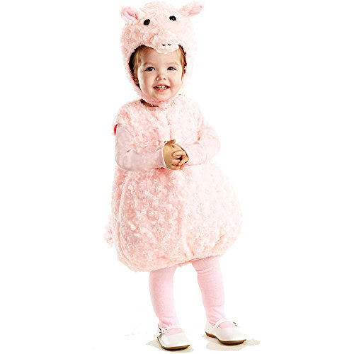 Piglet Plush Belly Toddler Costume