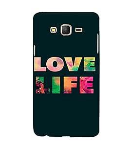 PrintVisa Life Quotes Design 3D Hard Polycarbonate Designer Back Case Cover for Samsung Galaxy On 7