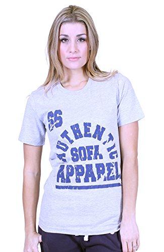 Università di qualsiasi donna Premium T shirt divano Divisione Heather Grey 38-40 (XS)