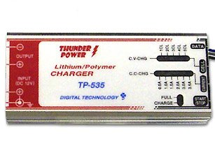 Thunder Power RC TP535C 1-5 Cell LiPo, 0.5-3.5 Amp DC Charger with Communication Port for TP205/210V