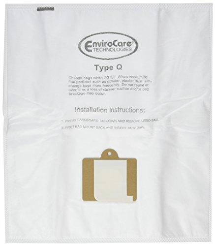 6 Kenmore HEPA Canister Type C, Q, 50558 50555 50557 Sears Anti-Allergen Vacuum Bags (Vacuum Q Bags compare prices)