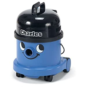 Numatic CVC370-2BL/BK Charles Wet and Dry Bagged Vacuum Cleaner, Blue