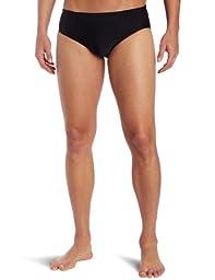TYR Sport Men\'s Solid Racer Swim Suit (Black, 30)